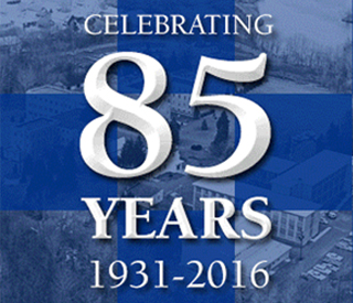 85 Years Logo mobile image