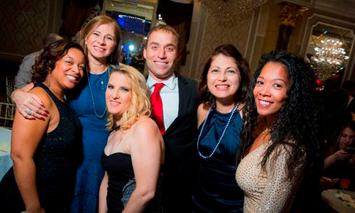 Photo of Berkeley College Associates at the Annual Holiday Party