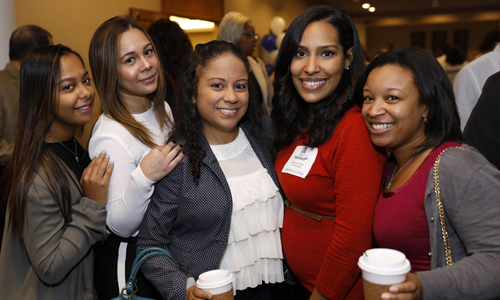 Photo of Berkeley College Associates at All Associates Day Event