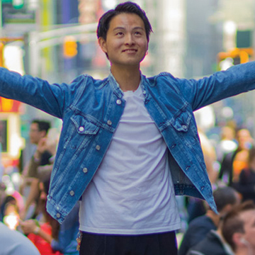 Photo of Berkeley College International Student in New York City. mobile image
