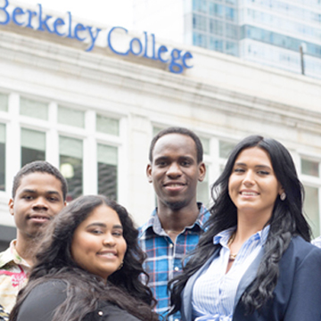 Students outside the Brooklyn Campus