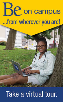 Be on campus from wherever you are! Take a virtual tour.