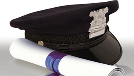 image of a police cap