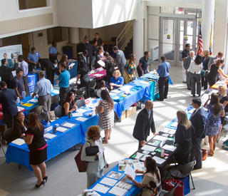Photo of Berkeley College Career Fair mobile image