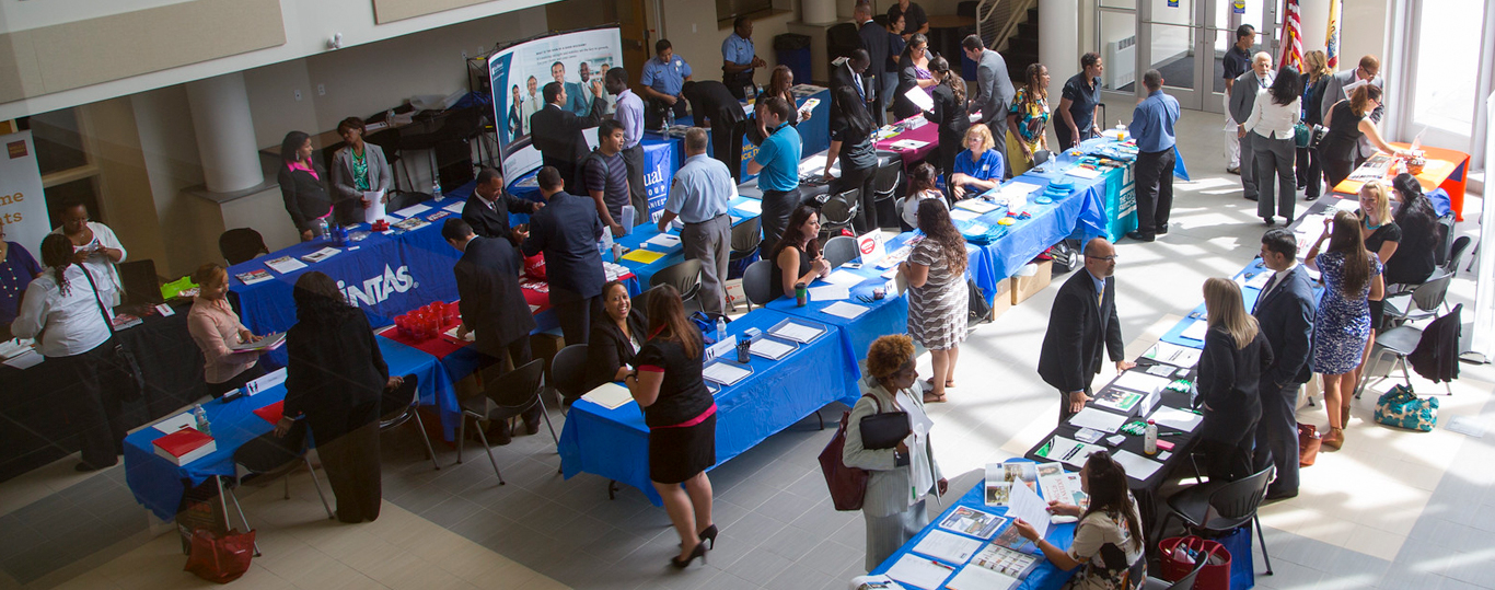 Photo of Berkeley College Career Fair