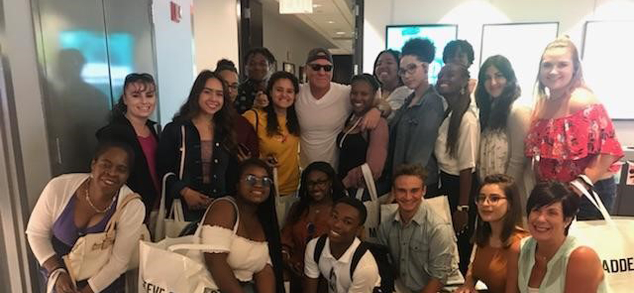 High school summer workshop with Steve Madden