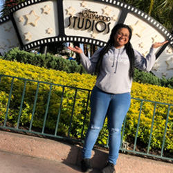 Imani Miller at Hollywood Studios