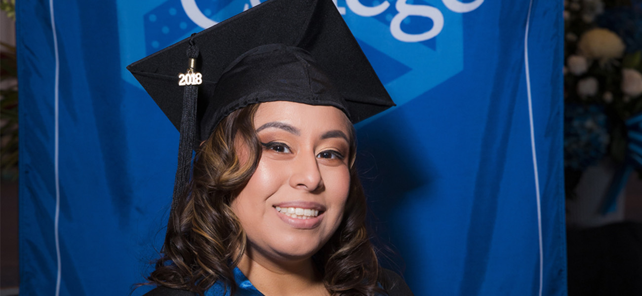 Jennifer Ruesta at Commencement