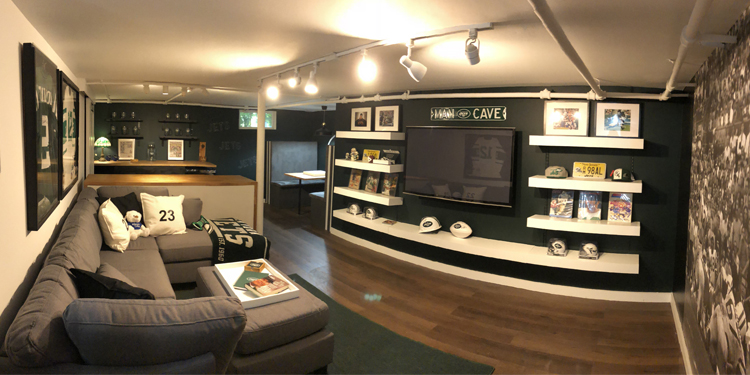 Jets Fan Cave outcome