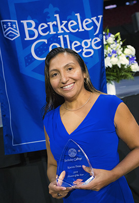 Karen Pena, Alumni of the Year