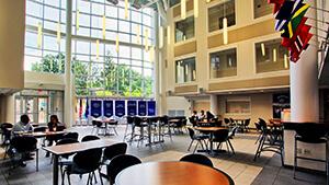 Woodland Park Campus Atrium