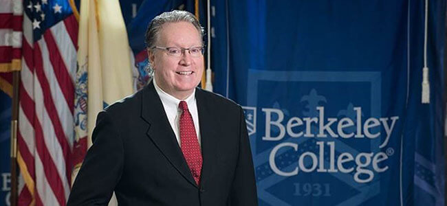 picture of Berkeley College president Michael smith
