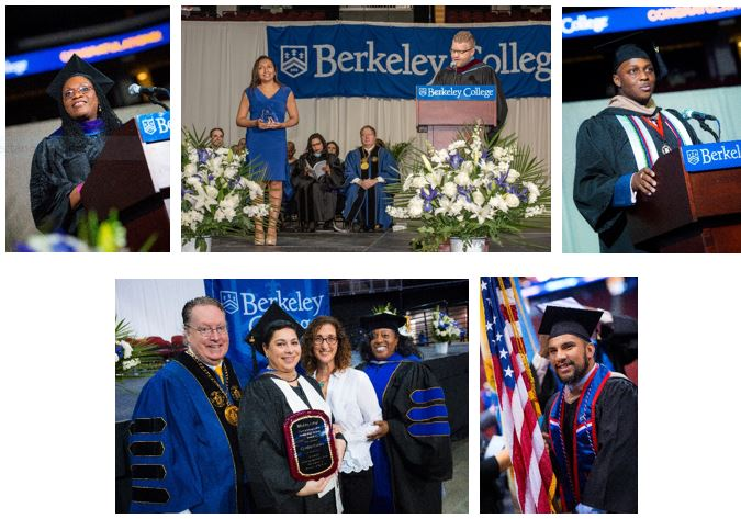 Photos of Berkeley College Graduates